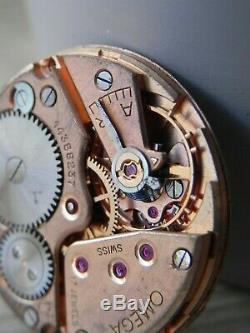 Ancien mouvement mécanique OMEGA CALIBRE 266 SWISS OLD WATCH 30 mm cadran dial