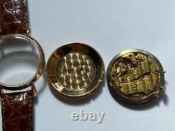 Ancienne Montre Calendrier Triple Date Or Jaeger Le Coultre An 50