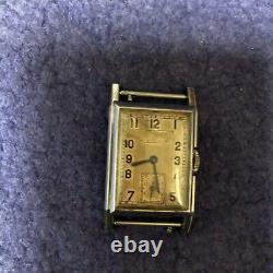 Ancienne montre JAEGER LECOULTRE UNIPLAN acier