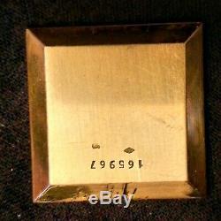 Ancienne montre Jaeger lecoultre en or 18 ct / 750 à restaurer ne fonctionne pas