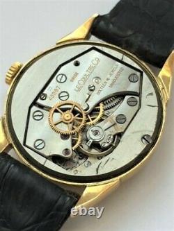 Belle montre Jaeger Lecoultre or 18Kt année 40