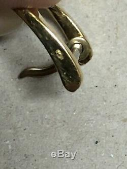 Boucle De Bracelet Pour Montre Jaeger LeCoultre En Or 18k750 UNROC Unpolished JL