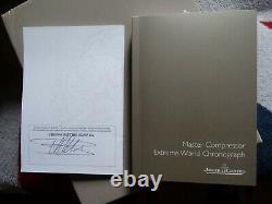 Box + certificat garantie Master Compressor Extreme chronograph Jaeger Lecoultre