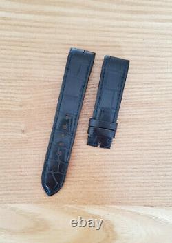 Bracelet alligator Jaeger-LeCoultre 18 mn montre Reverso Squadra Strap band