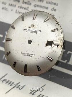 Cadran De Montre Jaeger LeCoultre Automatic Chronometre Geomatic 881 Date 31.54