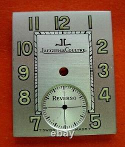 Cadran montre ancienne vintage Jaeger LeCoultre reverso Zifferblatt. Dial 6
