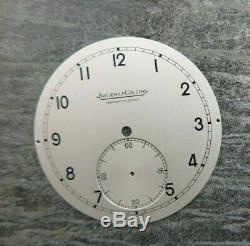 Cadran vintage pour montre Jaeger-Le-Coultre NOS