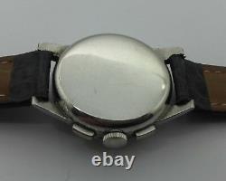 Chronographe Jaeger Lecoultre En Acier De 1940 C89p3