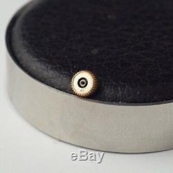 Couronne Montre Jaeger Lecoultre Plaque Or Vintage Watch Crown #1