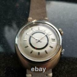 Homme Jaeger Lecoultre Memovox E861 Automatique W / Date Et Alarme, C. 1960s