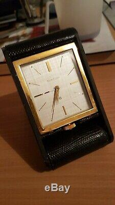 Horloge Reveil De Voyage Huit Jours Jaeger Lecoultre Fonctionne