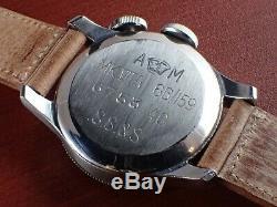 JAEGER LECOULTRE 1940 Weems 6B/159 Mk7A Ss 32mm Caliber. 450 S. S. & S. A. M