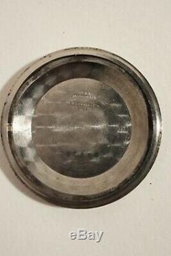 JAEGER-LECOULTRE AUTOMATIQUE A QUANTIÈME EN ACIER, calibre K 881, années 60