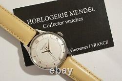 JAEGER-LECOULTRE AUTOMATIQUE EN ACIER, calibre 476, TRÈS BON ÉTAT, années 50