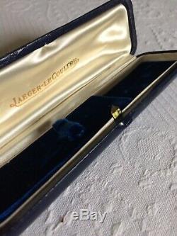 JAEGER LECOULTRE Vintage Watch Case Box Boite Ecrin Montre