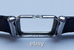 JAEGER LECOULTRE uniplan dame en acier vers 1950 Boîtier Art Déco Vintage