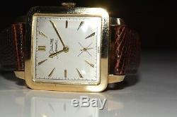 (JAEGER) LE COULTRE, AUTOMATIC, Or gold 10K, vintage