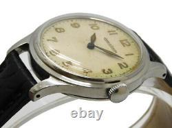 JAEGER LE COULTRE Military Arabic Index Main Automatique Vintage Montre
