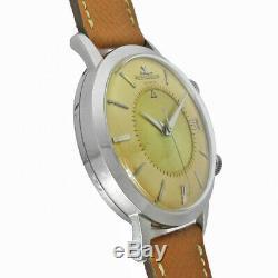 Jaeger-LeCoultre Memovox Pare-Choc Cal. K825 Date Ss 1961 Vintage Automatic Watch