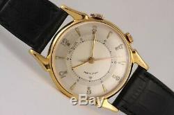 Jaeger-LeCoultre Memovox vintage watch! JLC caliber 814! 32mm Art Deco case