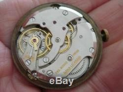 Jaeger LeCoultre Or 9ct flared lugs 40's