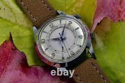 Jaeger-LeCoultre Pre Memovox Wrist Alarm 814 Serviced circa 1950