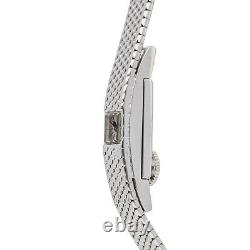 Jaeger-LeCoultre Vintage Manuel or Blanc Montre Bracelet Femme Vint Jlc Femme