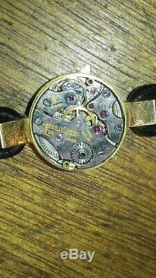 Jaeger LeCoultre, Vintage, Or 18K Gold, Women, montre