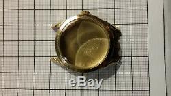 Jaeger LeCoultre boitier de montre + couronne JLC case 10k gf + crown cal 481
