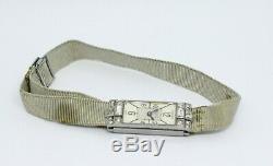 Jaeger-LeCoultre duoplan femme Vintage Diamants