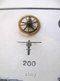 Jaeger Le Coultre 449 469 452 463 479 Roue Centrale + Cannon Pignon Partie 200