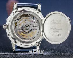 Jaeger Lecoultre 140.640.986B Master Lune Platine Édition Limitée Rare Limitée