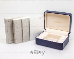 Jaeger Lecoultre 142.2.92. S Master Géographique 18K or Rose Cadran Noir avec Box