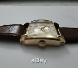 Jaeger Lecoultre Art Deco Date Par Disque Calibre 810/aw De 1950 C127p7