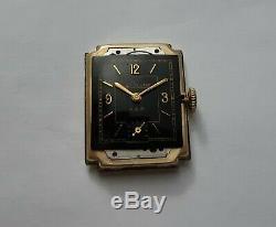 Jaeger Lecoultre Art Deco En Or 10k Gold Filled Calibre 438 De 1940