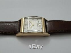 Jaeger Lecoultre Art Deco En Or 10k Gold Filled Calibre 438 De 1940 C127p2