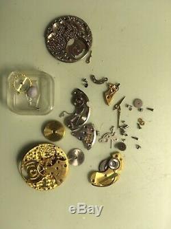 Jaeger Lecoultre Box Part Calibre 480 Nos + Gold Hands