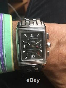 Jaeger-Lecoultre Chronograph Reverso Gran Sport Full Set 2 Bracelets
