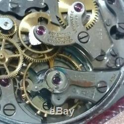 Jaeger Lecoultre Chronographe Ancien Manual-Wound Pilier Roue Calibre 285