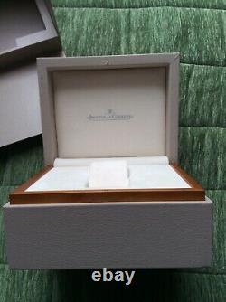 Jaeger Lecoultre ECRIN BOITE BOX MONTRE Watch & Booklet Livret Master Ultra Thin