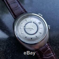 Jaeger Lecoultre Homme Memovox E861 Automatique W / Date Alarme 38MM, c. 1960s