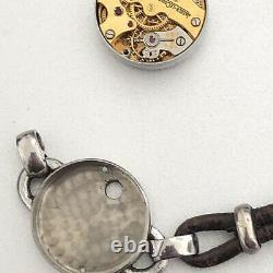 Jaeger Lecoultre Lady Watch Steel Art Deco Calibre 496 Vintage Used For Part Use