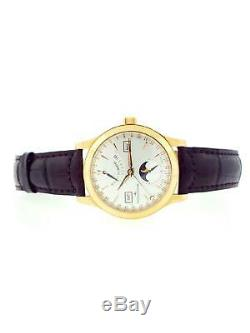 Jaeger Lecoultre Master Control Calendrier 40mm Lune 18k or Rose Ref 147.2.41. S
