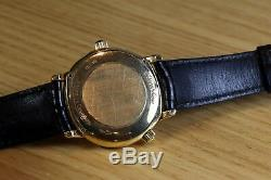 Jaeger-Lecoultre Master Géographique Or 18kt /Yellow Gold 38mm Ref 169.1.92