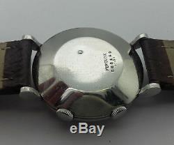 Jaeger Lecoultre Memovox En Acier Cal P489/1 De 1950 C127p3