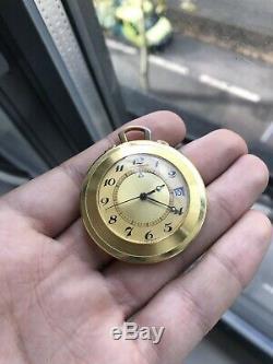 Jaeger-Lecoultre Memovox Pocket/Travel clock k. 911 Réveil Alarme