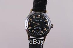 Jaeger-Lecoultre Militaire Cal. 463 Acier Inox avec Bracelet Cuir Acceptable