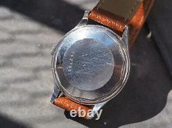 Jaeger-Lecoultre Powermatic s. Steel cal. JLC 481 index breguet vintage watch