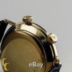 Jaeger- Lecoultre Vintage Remontage Montre Alarme WithOriginal Boite et Étui