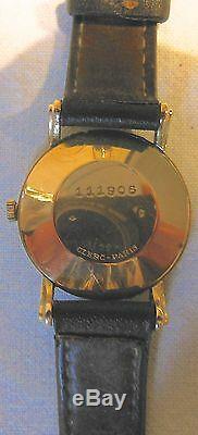 Jaeger Lecoultre montre HOMME, MOUVEMENT AUTOMATIQUE (QUARTZ) boitier OR 18 K
